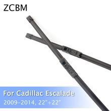 ZCBM автомобильные стеклоочистительные полосы для Cadillac Escalade 2009 2010 2011 2012 2013 крюк Тип стеклоочистители 22+ 22 дюйм(ов