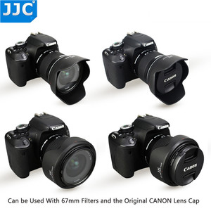 Image 5 - JJC Camera Lens Hood for Canon EF S 10 18mm f/4.5 5.6 IS STM replaces EW 73C