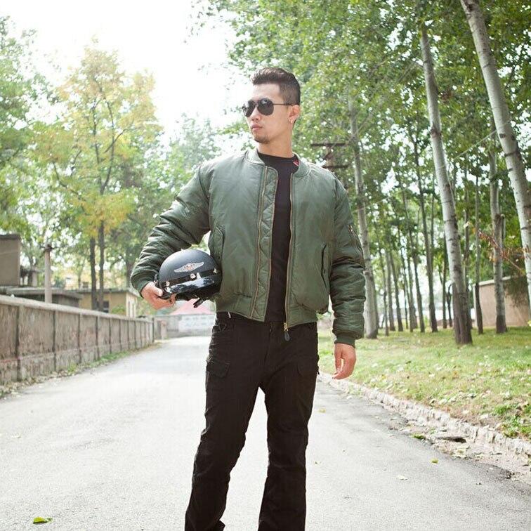 Veste de randonnée thermique réversible pour homme veste de vol aviateur aérienne militaire veste de Camping pilote tactique 3 couleurs