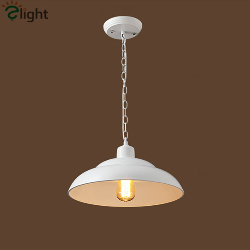 ФОТО RH Loft Nordic Retro Dining Room LED Pendant Light American Country Kirkland Hanging Light Iron Suspension Light