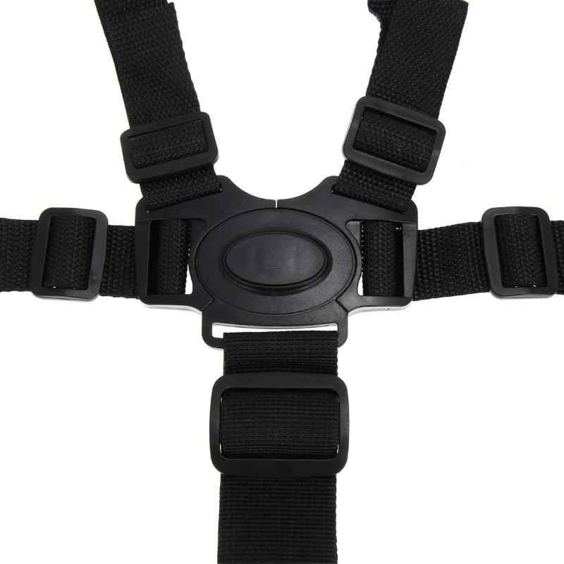 5 Point Harness High Chair High Chair Baby Car Belt Children Chair Safety Belt Chest Locking Clip Buck Baby Stroller Accessories