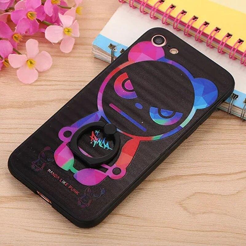 Caja del teléfono para apple iphone 7 7 s casos  moda cubierta de la caja del so