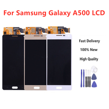 100% Tested For Samsung Galaxy A5 2015 A500 A500F A500FU A500M A500Y A500FQ LCD Display+Touch Screen Digitizer Assembly+Tools high quality for samsung galaxy a5 2015 a500 a500f a500fu a500m a500y a500fq lcd display touch screen digitizer assembly tools