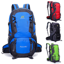 Unisex Sport Backpack Waterproof Nylon Hiking Backpack Athletic Sport Travel bag 40L ISP