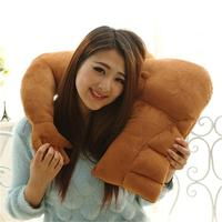 Soft body pillow Muscular Boyfriend Pillow Warm Toys New Strong Muscle Man Single Arm Plush Gift for girlfriend free shipping
