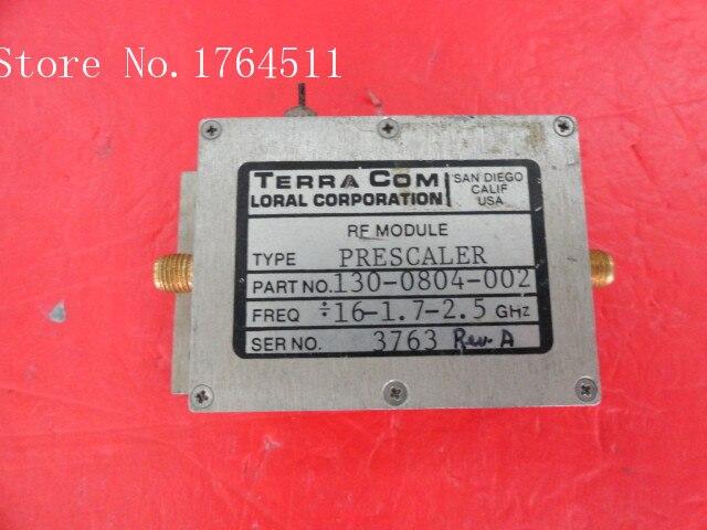 [BELLA] TERRA COM 130-0804-002 / 16-1.7-2.5GHz SMA Amplifier