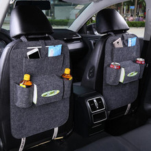Car Storage Bag Universal Box Back Seat Bag Organizer Backseat Holder Pockets Car-styling Protector Auto Accessories