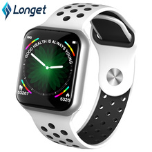 Longet F8 Fitness Watch Blood Pressure Color Screen Smart Heart Rate Sleep Monitor Band Waterproof for iOS Android