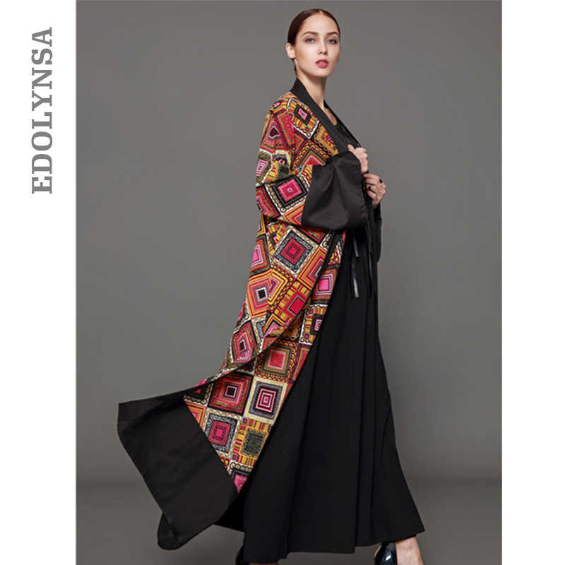Kimono Cardigan Dubai Abaya Dress Plus Size Muslim Dress S-5XL Long Kaftan  Maxi Dresses d518c27edd50