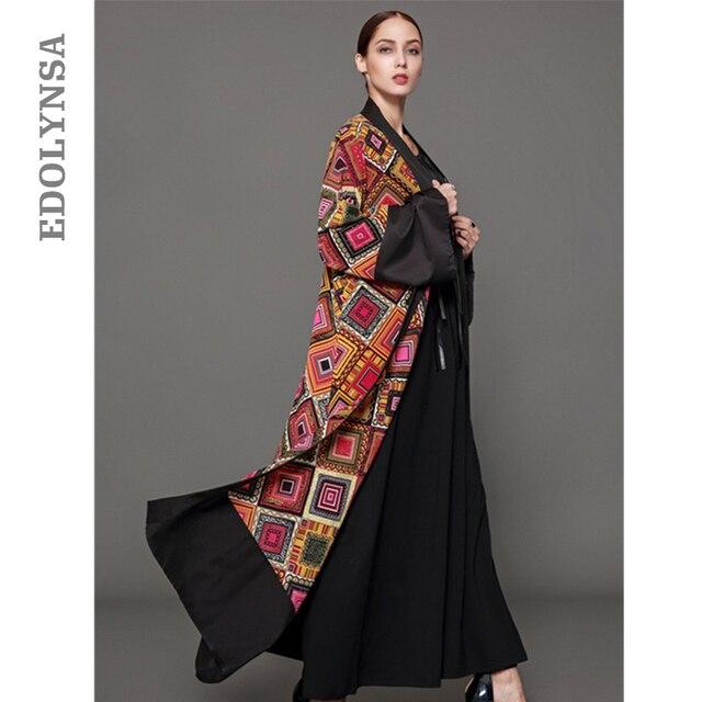 Kimono Cardigan Dubai Abaya Dress Plus Size Muslim Dress S 5XL Long Kaftan  Maxi Dresses Empire Robe Elegant Womens Clothing#D379-in Dresses from ...