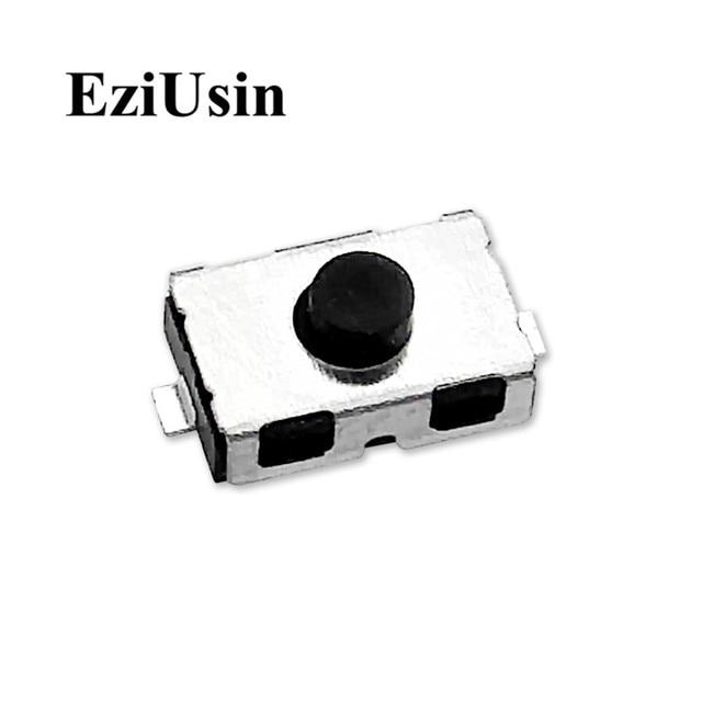 EziUsin Micro Interrupteur 3*6*2.5, Interrupteur 4*6*2.5, pour boutons SMD, ouvert normalement, pour boutons en Gel de silice