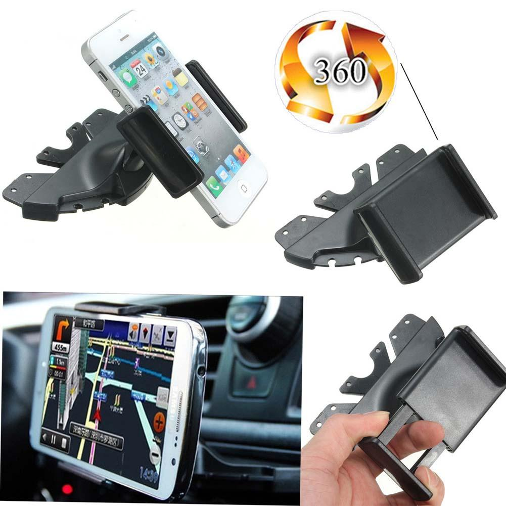 New universal car cd slot phone mount holder stand for mobiles iphone android china