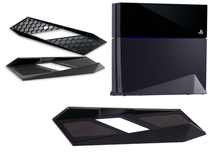 2016 Newest Vertical Holder Dock Mount Cradle Magic vertical Stand Support Cooling Base For Sony Playstation 4 PS4 PS 4 Console