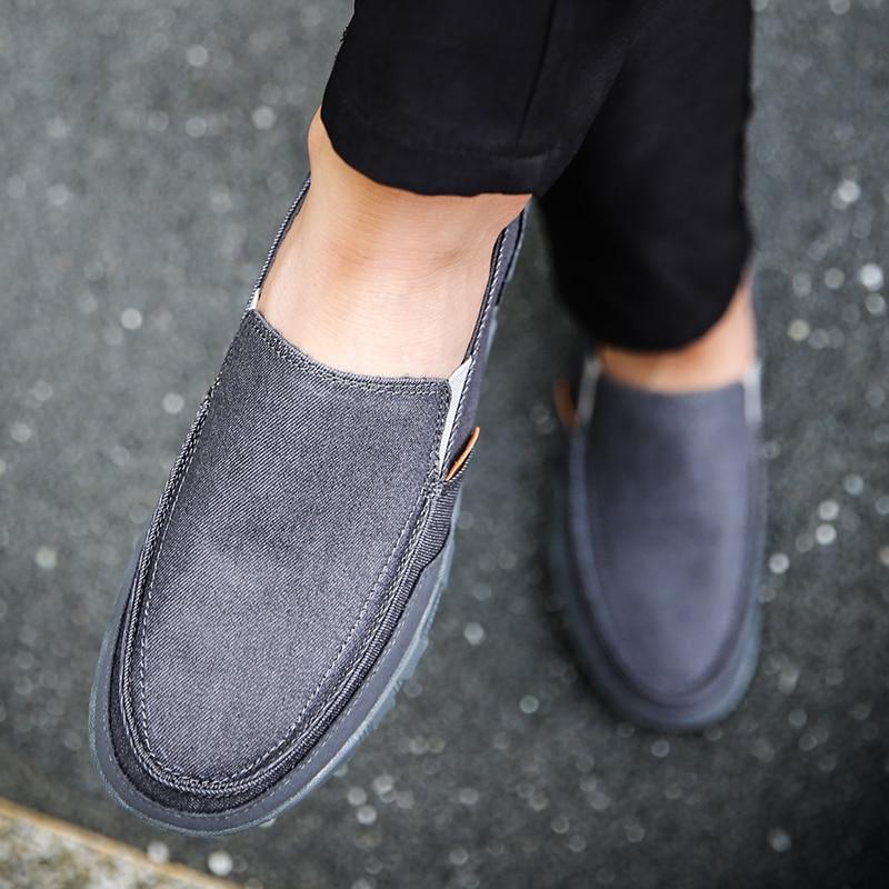 gris Automne Plus kaki Appartements La Sur Hommes Homme 45 Slip 46 Printemps Mocassins Taille rouge Affaires Zéro Fine Bleu Eté Jean Chaussures Robe Conduite a76g1wZ