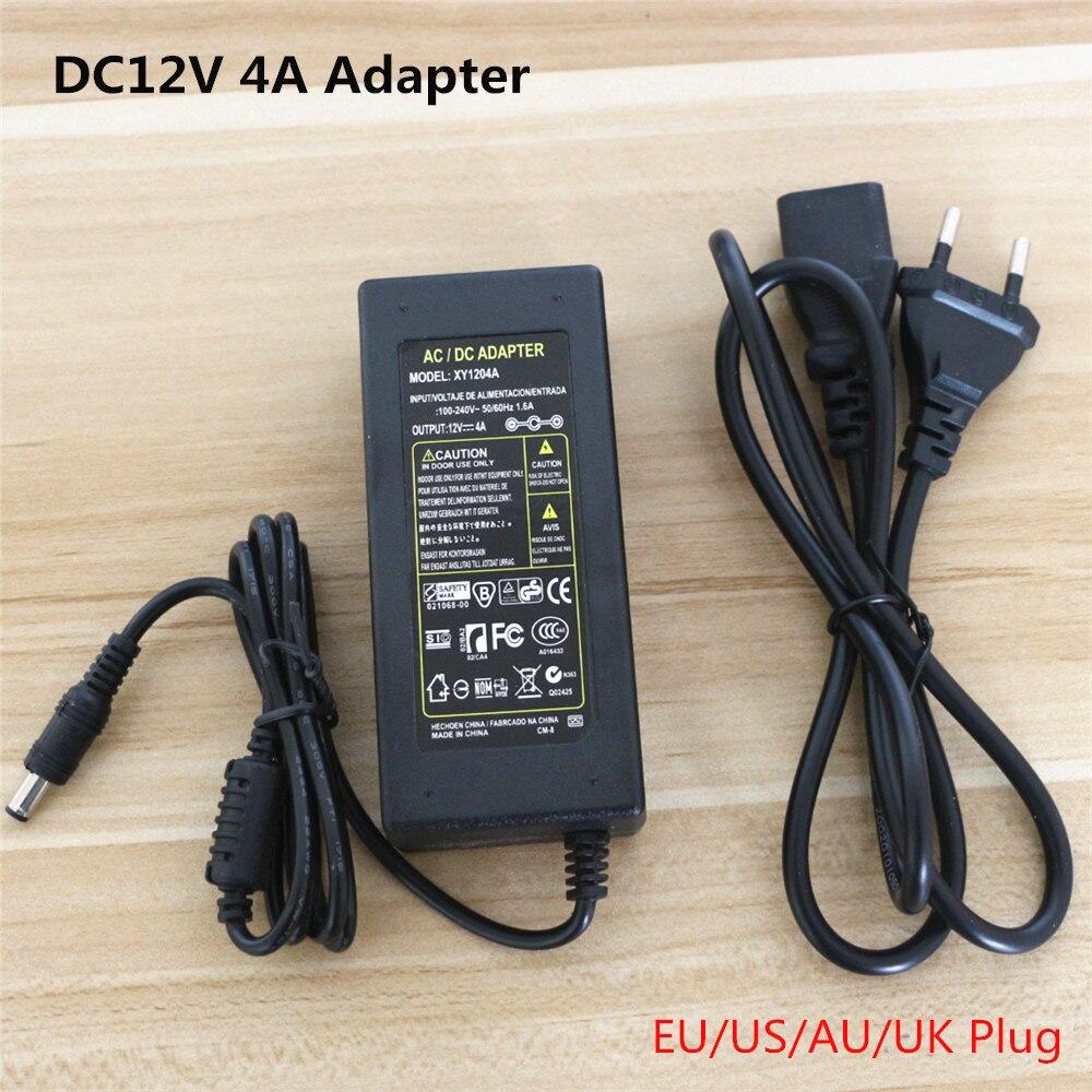 DC12V 4A 48 Watt Einfarbig/RGB LED Streifen lichtschalter Netzteil ...