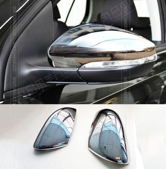 Fit For Vw Golf Mk6 Touran Door Side Wing Mirror Chrome