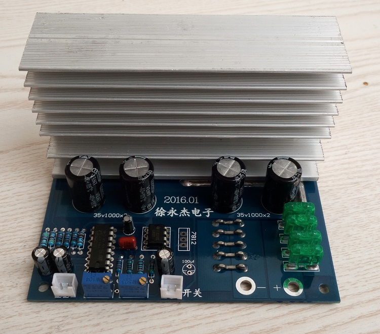 Low frequency iron core transformer, inverter drive board, power frequency inverter accessories, 12v1000w24v2000w inverter drive board power frequency transformer driver board dc12v to ac220v home inverter drive board