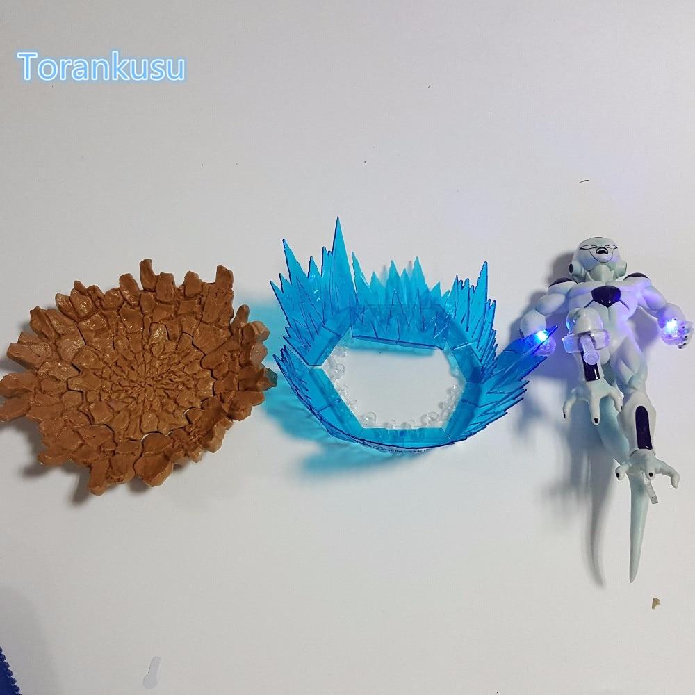 Image 5 - Dragon Ball Z Action Figure Freeza DIY Display Toy Dragonball Z Friza Esferas Del Dragon Freeza Toy DBZ+LED Light DIY10-in Action & Toy Figures from Toys & Hobbies on AliExpress