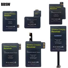 BBSW TI Chipset Ultra Thin Qi Wireless Charging Receiver Module Adapter Charger For SAMSUNG Galaxy S5 Note 4 Type-C Device