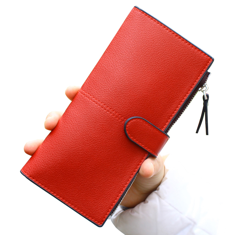 TONUOX Women Wallets Candy Colors Lady Purses Handbags Woman Clutch Hasp Zipper Coin Purse Cards ID Holder New Wallet Money Bags 2016 famous brand women clutch wallets top leather long coin purses lady card holder candy color hasp zipper girls phone handbag
