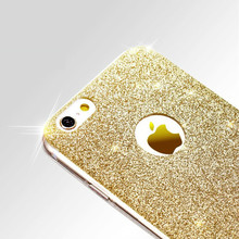 TPU cases For Apple Iphone 7 case Ultra Thin Glitter Bling Cute Candy Cover soft Cases for iphone 7 back cover