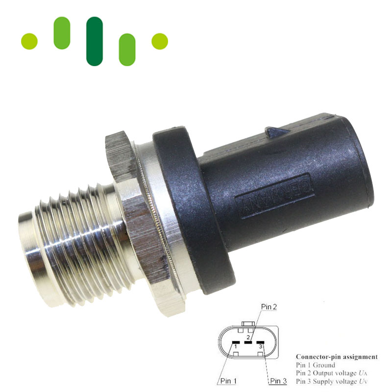 High Fuel Rail Pressure Sensor A0061533328 A0061536528 A0041536728 For MERCEDES BENZ W169 W245 W203 W211 2.0 2.2 2.7 3.2 CDI цены
