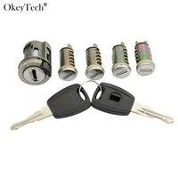 Okeytech New Ignition Switch Lock Barrel For Fiat Ducato Peugeot Boxer Citroen Relay Jumper Brand Car Door Lock Cylinder New