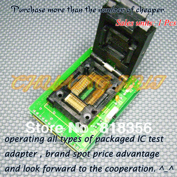 BM11163 Programmer Adapter PC-RTC-505A PM-RTC005-366A IC51-0644-692 QFP64 Adapter/IC SOCKET/IC Test Socket bm11120 programmer adapter pm rtc005 312b ic51 0804 566 adapter ic socket ic test socket