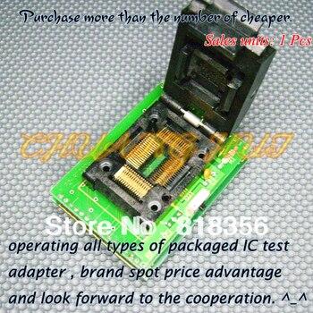 BM11163 Programmer Adapter PC-RTC-505A PM-RTC005-366A IC51-0644-692 QFP64 Adapter/IC SOCKET/IC Test Socket 100% new ic51 0162 sop16 ic test socket programmer adapter burn in socket ic51 0162 271