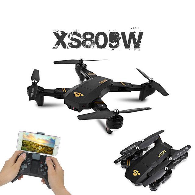Visuo XS809HW Mini Foldable Selfie Drone