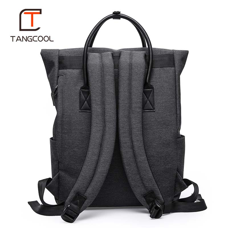 Tangcool Multifunction USB charging Men 15inch Laptop Backpacks For Teenager Mochila Leisure Travel Fashion Male backpack