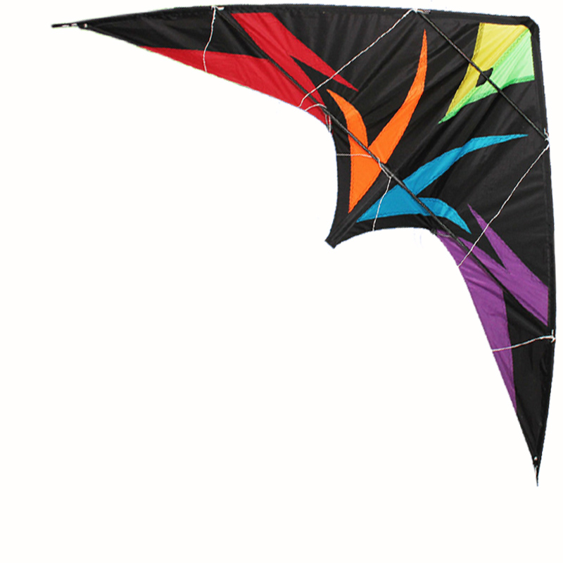 Купить с кэшбэком Professional Kite  Assassin  1.8m Dual Line Professional Power Stunt Kite Outdoor Sport Delta Kite  With Flying Tools