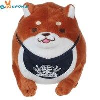 28CM Amuse Dog 3 Brothers Stuffed Plush Toys Shiba Inu Toy High Quality Stuffed Loyal Pet