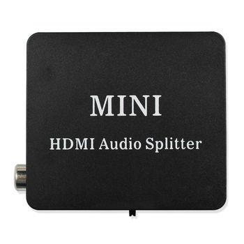 HDMI к HDMI Оптический SPDIF HDMI к HDMI + аудио сплиттер, Suppport 5,1 + RCA L/R аудио видео экстрактор конвертер сплиттер адаптер