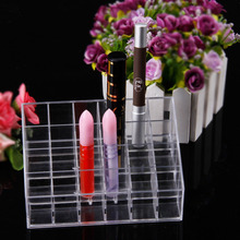 24 36 40 Slots Multifunctional Home Bedroom Lipstick fashion style Cosmetic Makeup Tools Plastic Box Hot