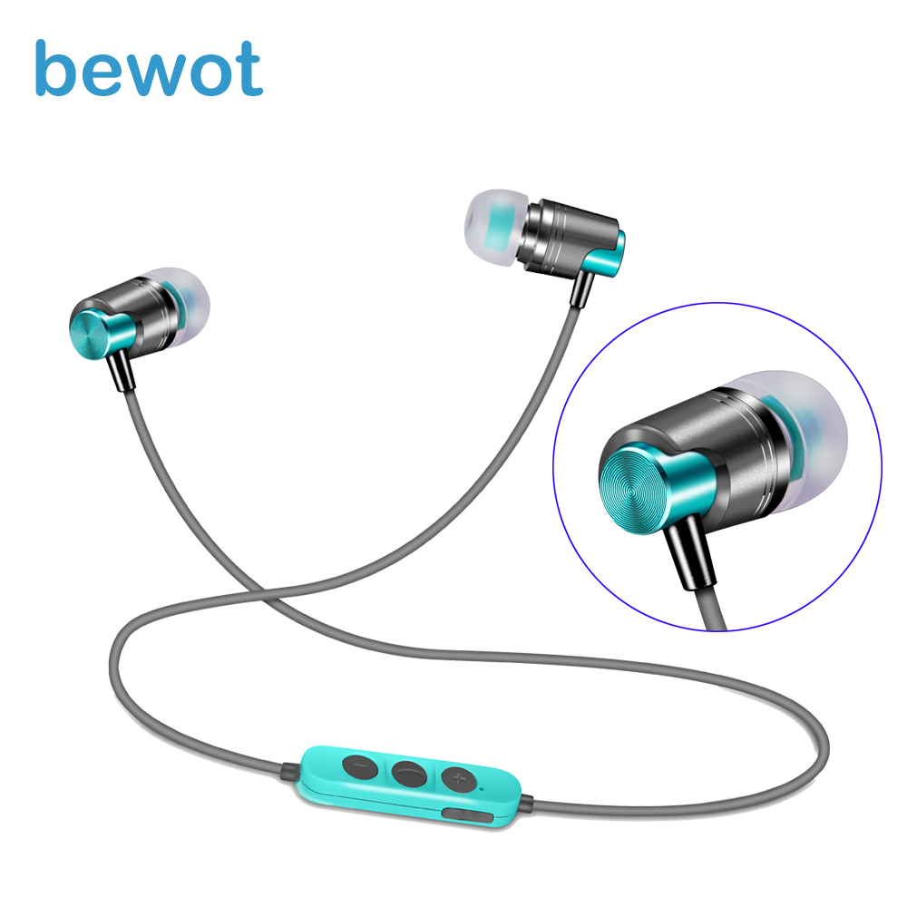 Bewot New Arrival B6 Bluetooth Earphone In-ear Fone De Ouvido Headset Earpiece Wireless Headphone Stereo For Phone Xiaomi awei stereo earphones headset wireless bluetooth earphone with microphone cuffia fone de ouvido for xiaomi iphone htc samsung