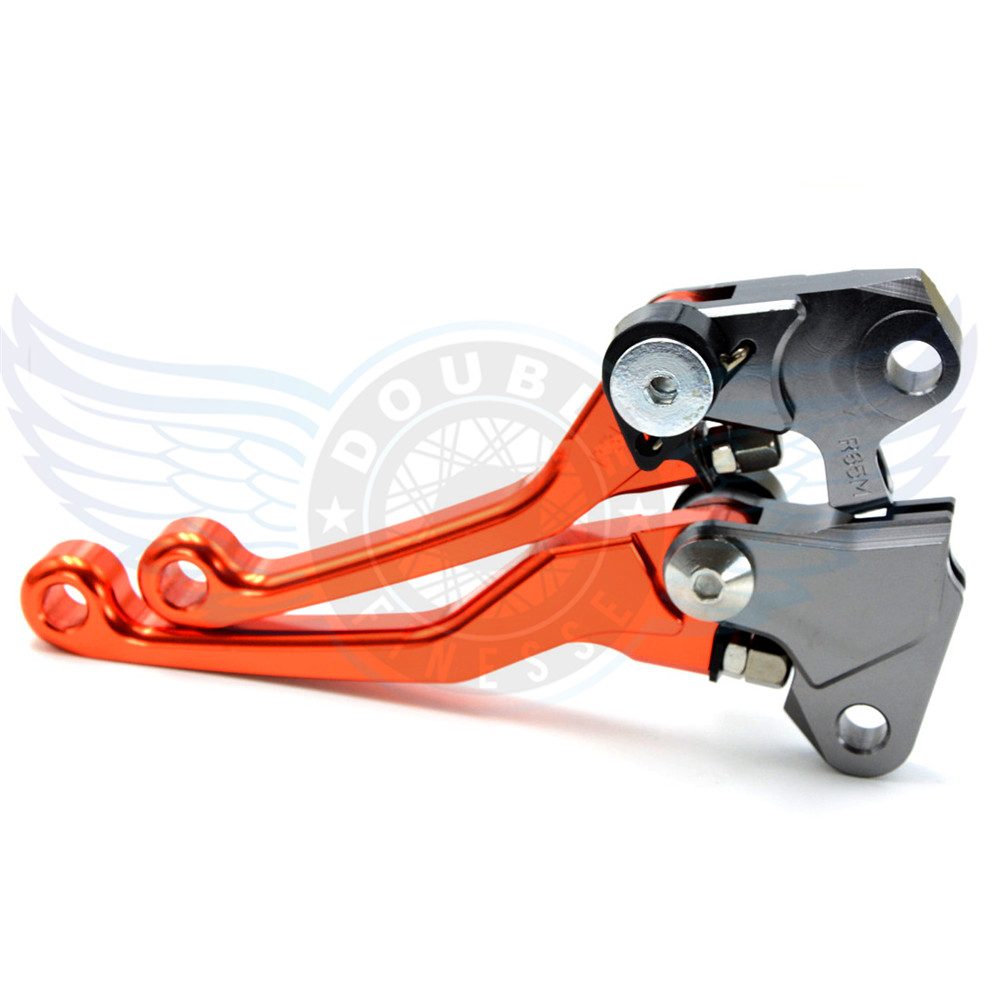 ФОТО motorcycle Pivot Brake Clutch Levers CNC lever brake clutch For Yamaha YZF 125/250    2008 2009 2010 2011 2012