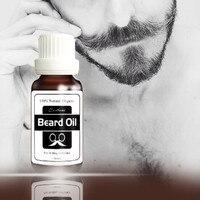New 20ml Hair Beard Oil Growth Essence Nourishing Fluid Natural Flavor Thicker Mustache Fast Grow Eyebrow Essence for Men Makeup Tools & Accessories