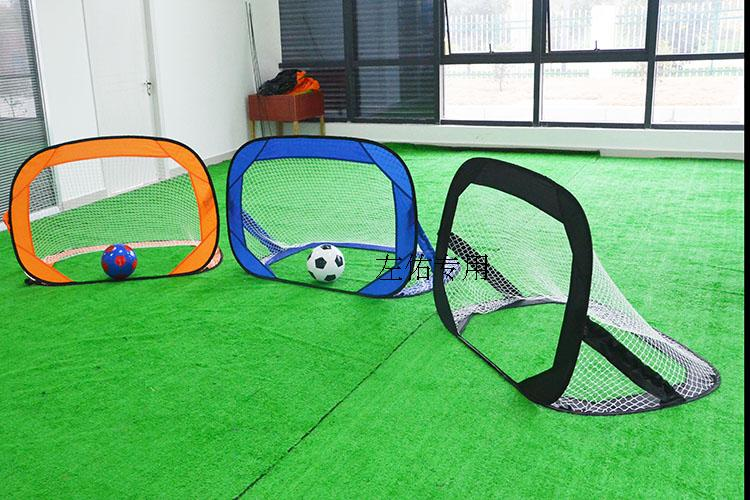 120*85**85CM 210D Oxford cloth Portable Folding football gate Soccer goal net Fans supplies