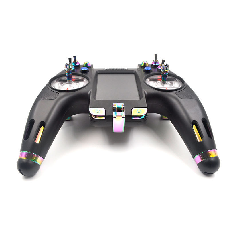 Flysky FS-NV14 2.4G 14CH Nirvana Transmitter Remote Controller with iA8X Receiver 3.5 Inch Display Open Source For RC Models flysky fs nv14 2 4g 14ch nirvana remote controller transmitter open source with ia8x rx for fpv racing drone rc helicopter