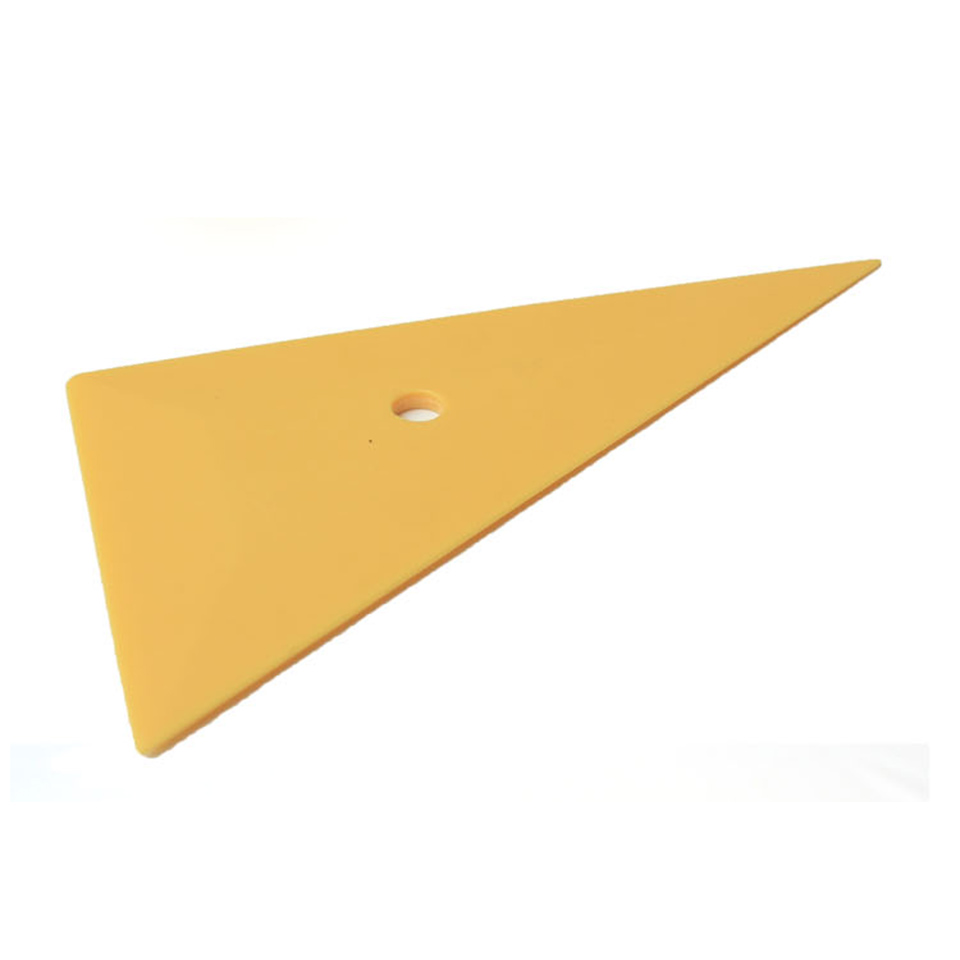 8*14*16cm Imported Gold EZ Reach Corner Tool Triangular Squeegee For car wrapping MX-99