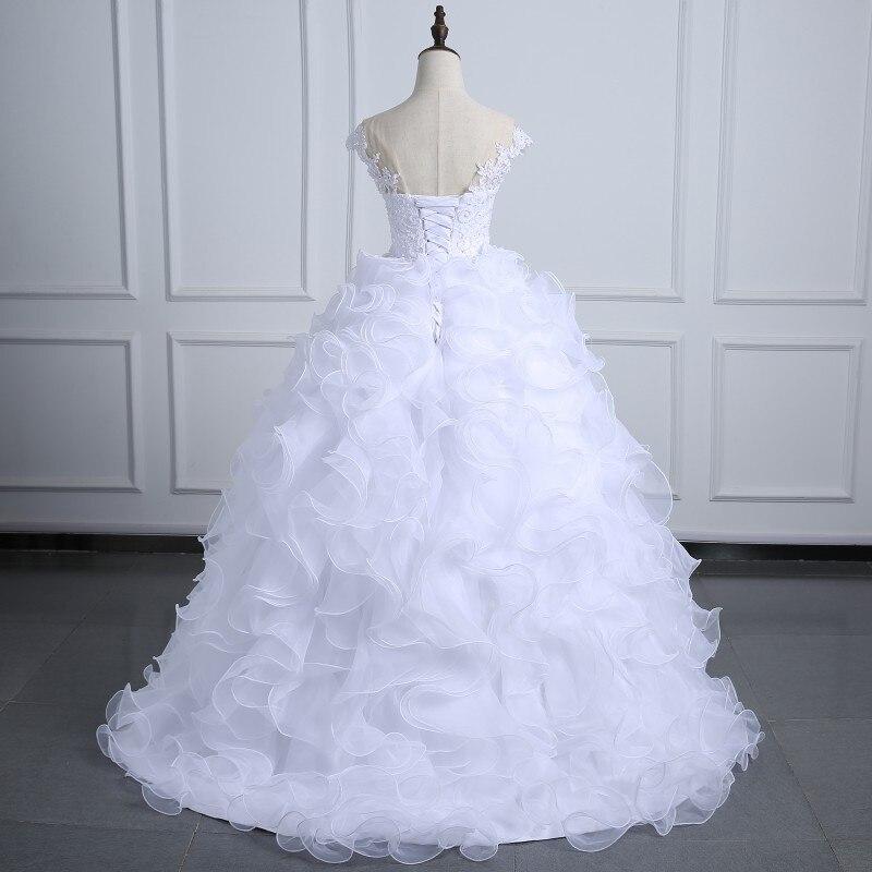 Wedding dress Ball Gown 2017 Arabic Organza Bridal Dress Bling bling ...