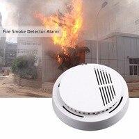 10Pcs Sensor Sensitive Photoelectric Home Independent alarm Smoke Detector Fire Alarm alone Sensor For Family Guard