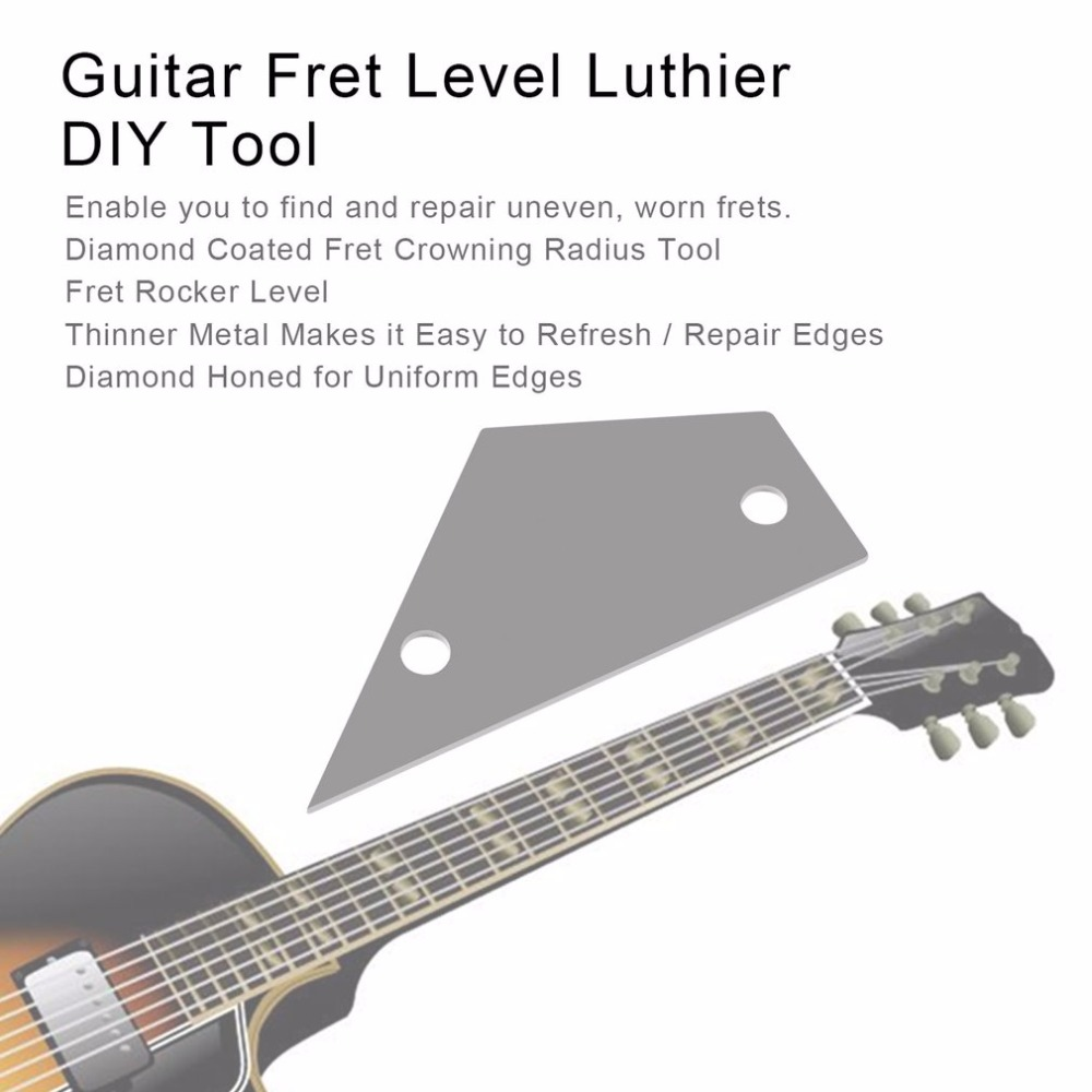 Guitar Parts & Accessories Cheap Sale Guitar Radius Gauge Guitar Fingerboard Fretboard Saddle Nut Radius Gauge Measure Tool Stainless Steel Guitar Accessories To Suit The PeopleS Convenience