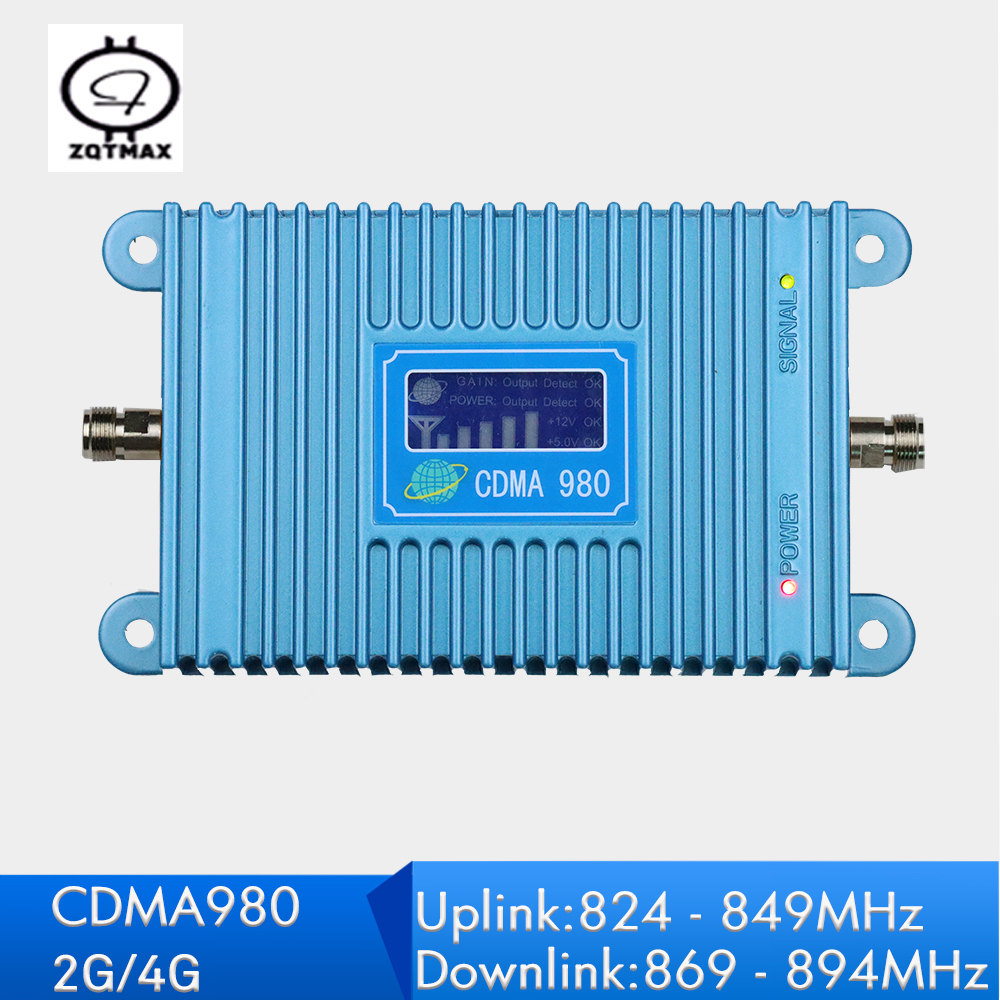 Repeatnet LCD Display 2G 4G CDMA 850 Signal Amplifier Power 65dB Gain UMTS Band 5 Repeater 850mhz Indoor  Booster