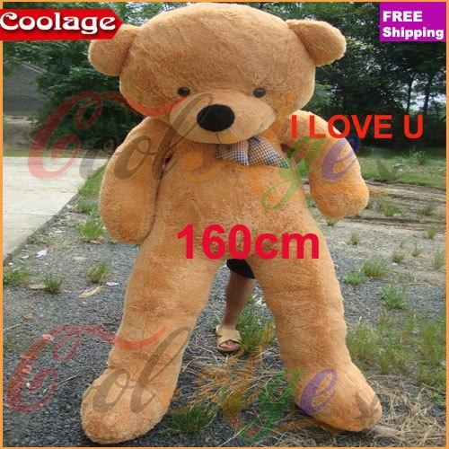 wholesale valentine 39 s day giant teddy bear baby toys life size teddy bear plush 100cm 160cm. Black Bedroom Furniture Sets. Home Design Ideas
