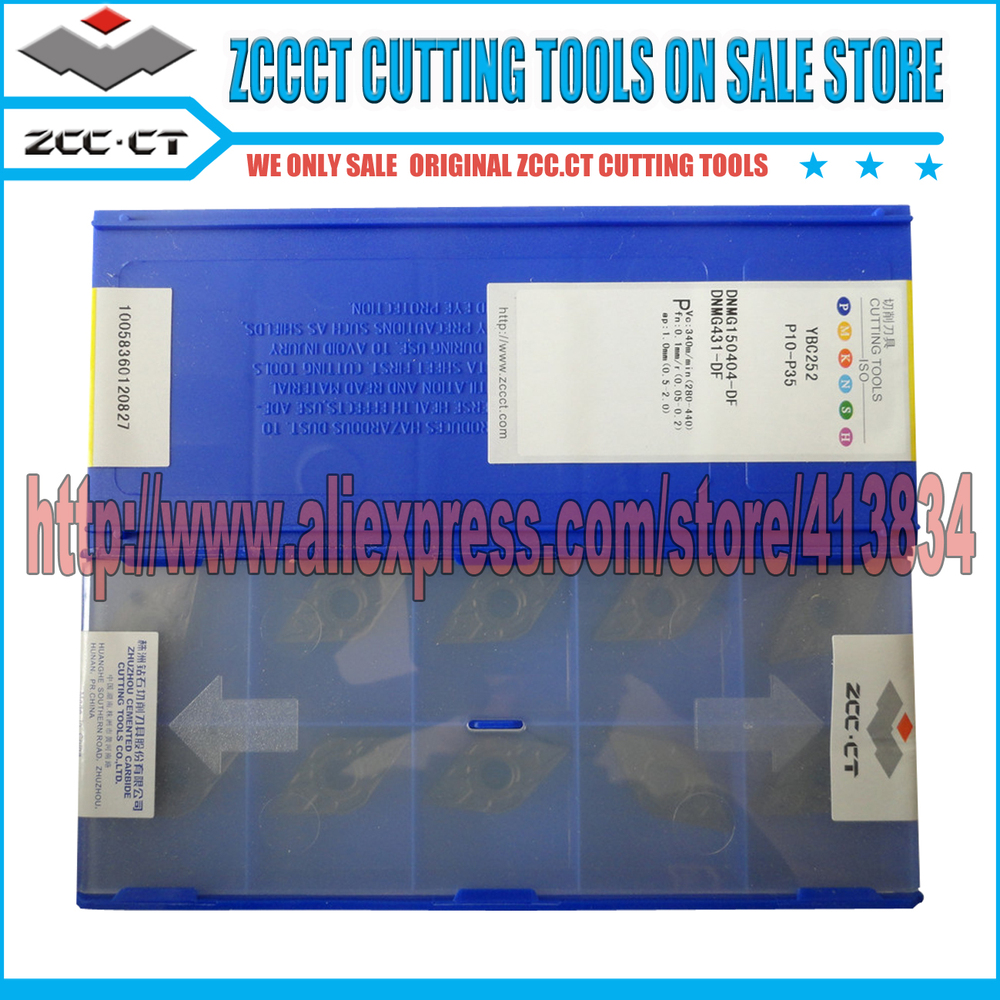 50pcs ZCC CT DNMG110404 DF YBC252 DNMG11 dnmg110404 dnmg 110404 df ZCC CT carbide cutting inserts