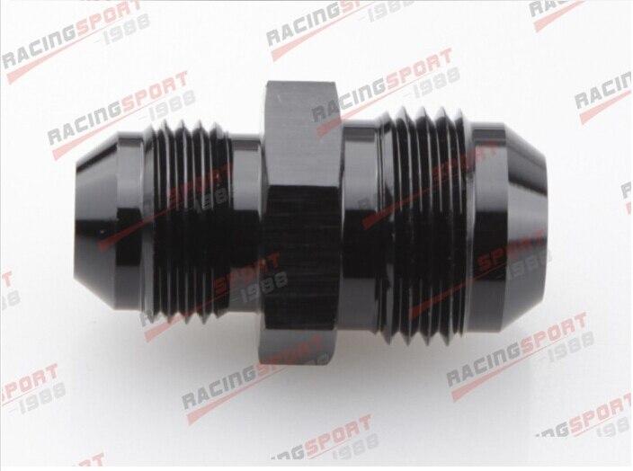 UN-6 (AN6) ad UN-4 (AN4) Straight Riduttore adattatore di montaggio nero