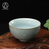 1Pcs 100ml Dragon Spring Xi Shi Sample Tea Cup Kung Fu Handmade Celadon Cup Muti-Colour