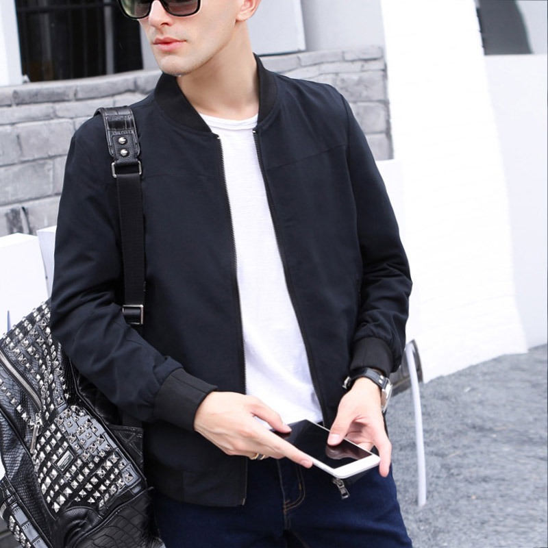Zipper Jacket Men Overcoat Casual bomber Jackets Mens Windbreaker coat jaqueta masculina veste homme Slim brand clothing